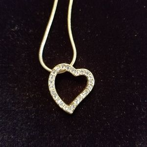 Jewelry - Gorgeous Tiffany style heart necklace
